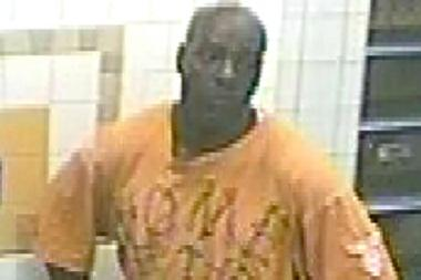 Police are looking for this man in connection with a robbery that happened at the Crown Heights-Utica Avenue subway station on Aug. 20, 2013.