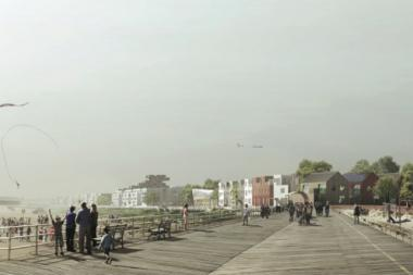 The winner of the contest, a Swedish firm, was announced on Oct. 23 in Far Rockaway.