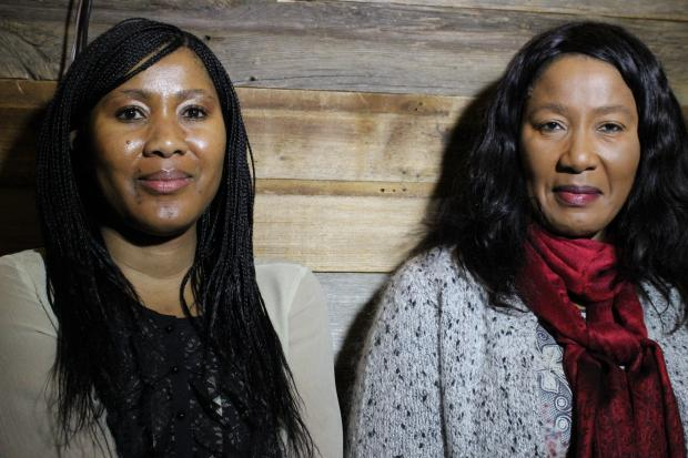 The daughter and grandaughter of Nelson Mandela began a U.S. wine tour at Bed-Vyne on Tompkins Avenue.
