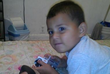 Three-year-old Olvin Jahir Figueroa was killed by a drunk driver, police said.