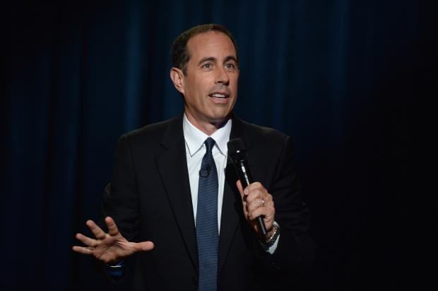 "Comedians Jerry Seinfeld and Robert Klein are set to headline the Laugh for Sight comedy benefit Monday, Oct. 28, 2013, a stand-up show also featuring Craig Carton, Sue Costello, Hiram Kasten and ""Blind Comedian"" Brian Fischler and his guide-dog, Nash."