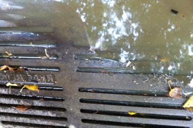 """The Knick"" flooded Milton Street's sewers, locals said."