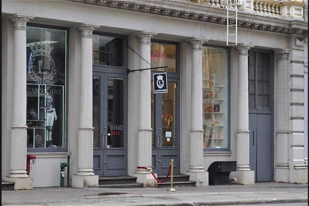 An employee of Broome Street boutique Lazaro Soho was punched in the face while fending off a shoplifter on Sept. 25.