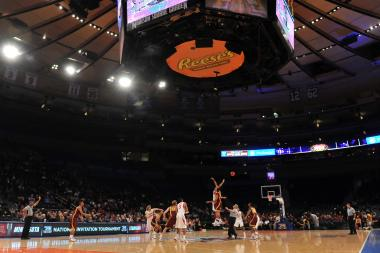 The Stanford Cardinals and the Minnesota Golden Golphers tip off in the first half during the NIT men's basketball championship at Madison Square Garden in March 2012. Winston & Strawn represented the NCAA in a 2004 antitrust suit against the NCAA.