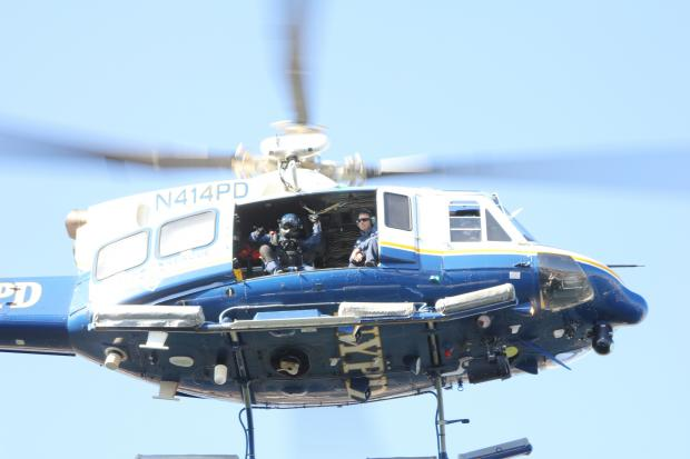 De Blasio S Use Of Nypd Helicopter Took Off This Year
