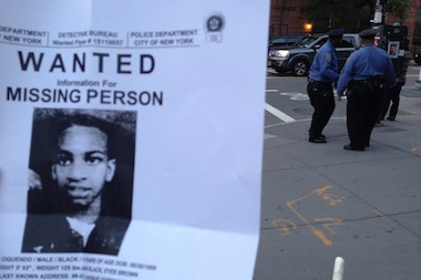 Police have been canvassing various neighborhoods, distributing flyers with Avonte's picture and asking for help.