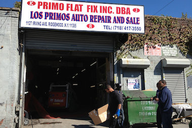 Primo Auto Body is one of the businesses at the current site.