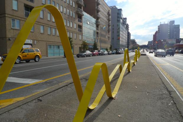 A public art project has been installed on Fourth Avenue near Fifth Street.