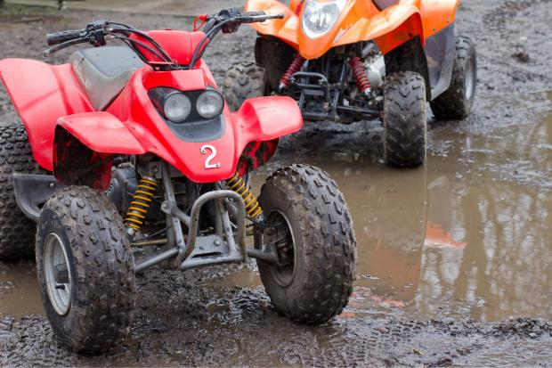 Locals are complaining about a group of dirt bike and ATV riders who can usually be seen on Richards Street near Pioneer Street in the early evening.