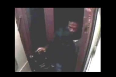 Cops say this man tried to rape a woman in the lobby of her SoHo building this week.