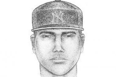 A rendering of a man suspected in the kidnapping of a 16-year-old girl on October 12, 2013 in Castle Hill.