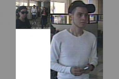 Police released surveillance photos of the suspects in a Forest Hills grand larceny.