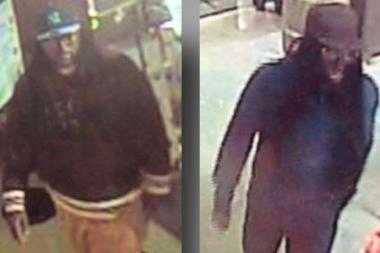 Two men stole $60,000 from an East Houston Street Whole Foods on Sunday, police said.