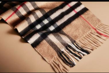 Six Burberry scarves were stolen recently from the designer's SoHo shop, police said.