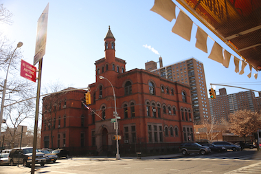 "The 88th Precinct building is a ""Romanesque Revival style building designed by the architect who worked for the Brooklyn Police Department around 1898 and designed many of their buildings,"" according to the Society for Clinton Hill."