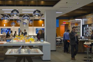AT&T unveiled its new retail shop in Midtown on Monday, No. 25, 2013.