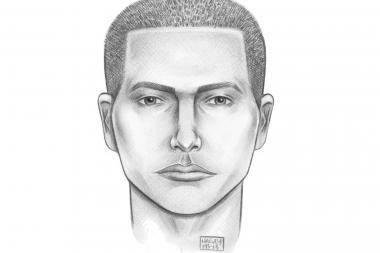 A man's sketch was released by the NYPD after an attempted rape in Flushing, just steps from Queens College.