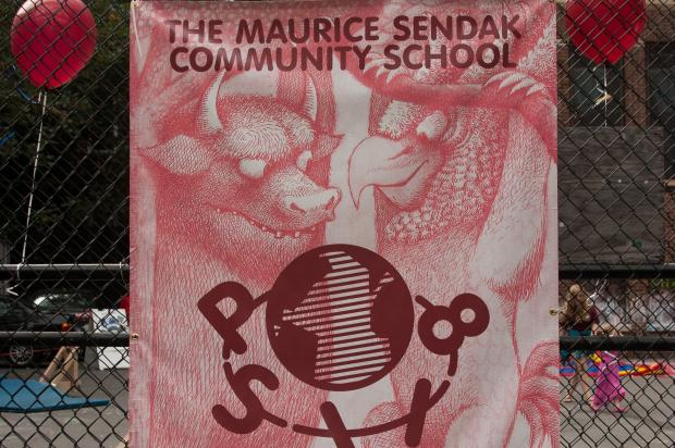 P.S. 118 has received both money and morale boosters from the Maurice Sendak Foundation.