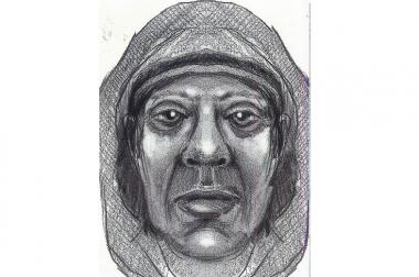 A sketch of the man police said robbed and tried to rape a 20-year-old woman in Bed-Stuy.