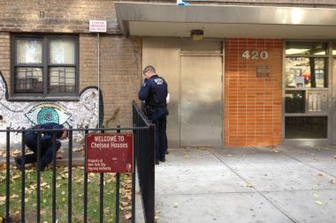 A man was shot near West 26th Street and Ninth Avenue early Monday, police said.