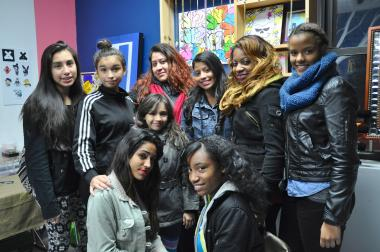 A group of teens have found a new creative outlet at Jazzabelss Boutique in Bushwick.