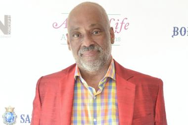 "Danny Simmons attends the Russell Simmons 14th Annual Art For Life Benefit on July 27, 2013 in Bridgehampton, New York. Simmons' new exhibit ""Noisy in the Next Room"" opens in Bed-Stuy on Nov. 3."