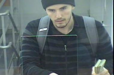 Police are looking for a man who held up an Upper East Side bank on Halloween night.