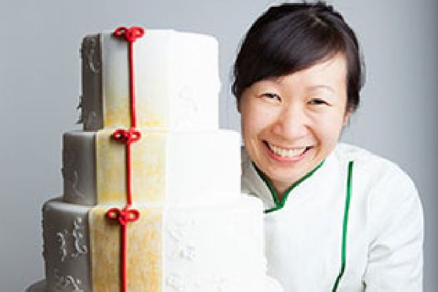 The bakery offers Asian inspired wedding and specialty cakes.