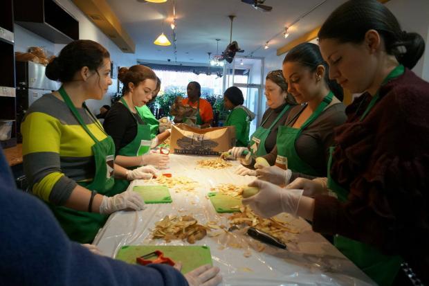 New York Soup Kitchen Volunteer Queens