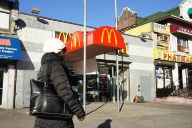 Police want to cut wireless Internet access at a Crown Heights McDonald's to keep teens from congregating there.