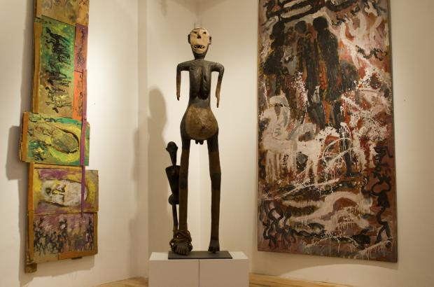 One of the country's preeminent private collections of African art is set to reopen this week, even as a fight over its late founder's estate continues to slog through the courts.