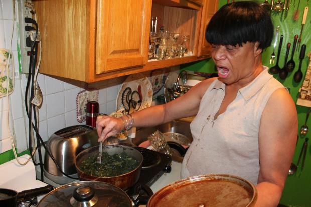 After it took five hours to cook a dinner of collard greens and fried chicken on the electric burner now serving as her stove, Joyce Johnson,59, a resident of AK Houses in East Harlem knows preparing Thanksgiving dinner for her family at her apartment is out of the question. Residents of the building on 128th Street between Lexington Avenue and Park Avenue have been without gas since Sept. 30 after it was shut off for safety reasons.