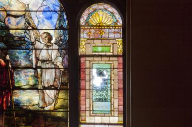 Brown Memorial Baptist Church in Clinton Hill is hoping to raise $500,000 to restore their 1891 Tiffany stained glass windows.