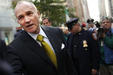 "Police Commissioner Ray Kelly will leave with a detail of 10 officers, sources told ""On the Inside."""