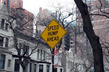 The City Council passed legislation mandating new speed humps near city schools on Tuesday, Nov. 26, 2013.