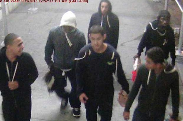 These men are wanted in connection with an attack and attempted robbery in Hell's Kitchen early Friday morning, Nov. 1, 2013.