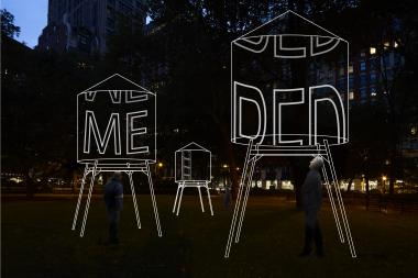 Madison Square Park's upcoming art exhibit will be on display from Feb. 20 through March 30.