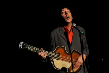 "Tommy Koenig performs during his recent show ""Baby Boom Baby."""