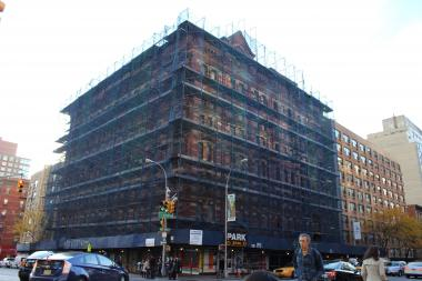 The Windermere, at the corner of West 57th Street and Ninth Avenue, has been a crumbling wreck for decades, neighbors said.