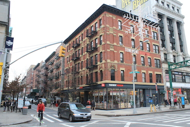 The Lower East Side is one of many neighborhoods where rent-stabilized apartments have been disappearing.
