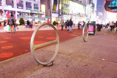 The Department of Transportation has approved the installation of a dozen bike racks in Gramercy and Midtown East.