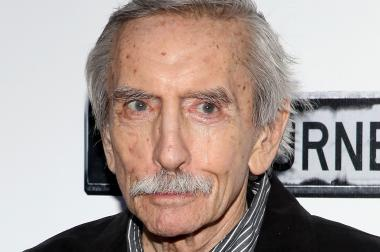 "Edward Albee attends the ""Clybourne Park"" Broadway opening night at Walter Kerr Theatre on April 19, 2012. The New Brooklyn Theater is performing an Edward Albee play at Interfaith Medical Center to raise awareness about the hospital's closure."