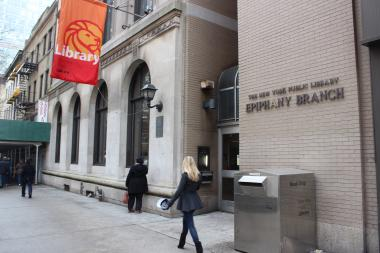Epiphany Library, located at 228 E. 23rd St. at Second Avenue, was scheduled to reopen in November, but it opened nearly a month later due to some construction delays, said Amy Geduldig, a spokeswoman for the New York Public Library.