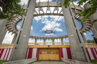The New York State Pavilion was declared a national treasure by a group that sets out to restore landmarks around the country.