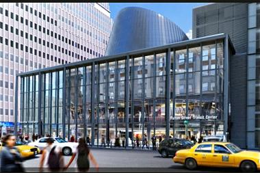 The retail space of the soon-to-be-completed Fulton Center is now owned by mall developer Westfield Group, which also controls the shopping center in the new World Trade Center complex.