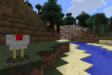 "An image from ""Minecraft,"" one of the independent video games featured in an upcoming exhibit at the Museum of the Moving Image."