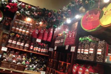 The Jacques Torres holiday shop will carry the same products as his DUMBO store, pictured here.
