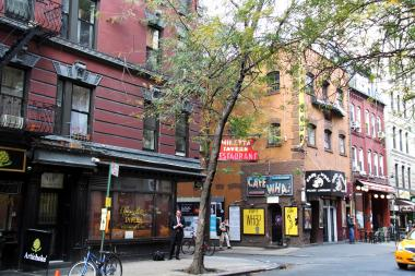 The Minetta Tavern and Cafe Wha? are among the buildings within the area landmarked by the Landmarks Preservation Commission on Dec. 17, 2013.