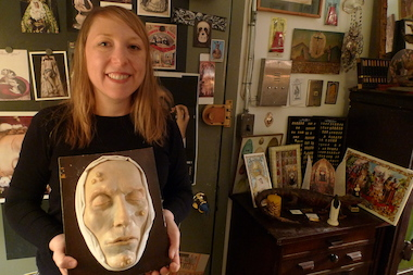 Joanna Ebenstein, founder of the Morbid Anatomy Library, is opening a full-fledged museum in Gowanus. Her collection includes medical models, taxidermy, vintage photos of funerals, and other items that explore the intersection of death, art and history.