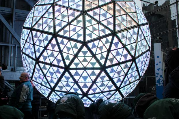 New Year's Eve Ball has it's final test before the Times Square celebration.